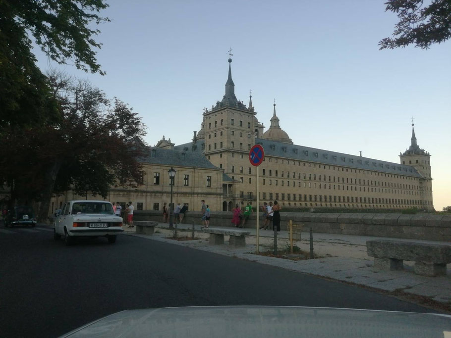 El Escorial, excursiones en clasico