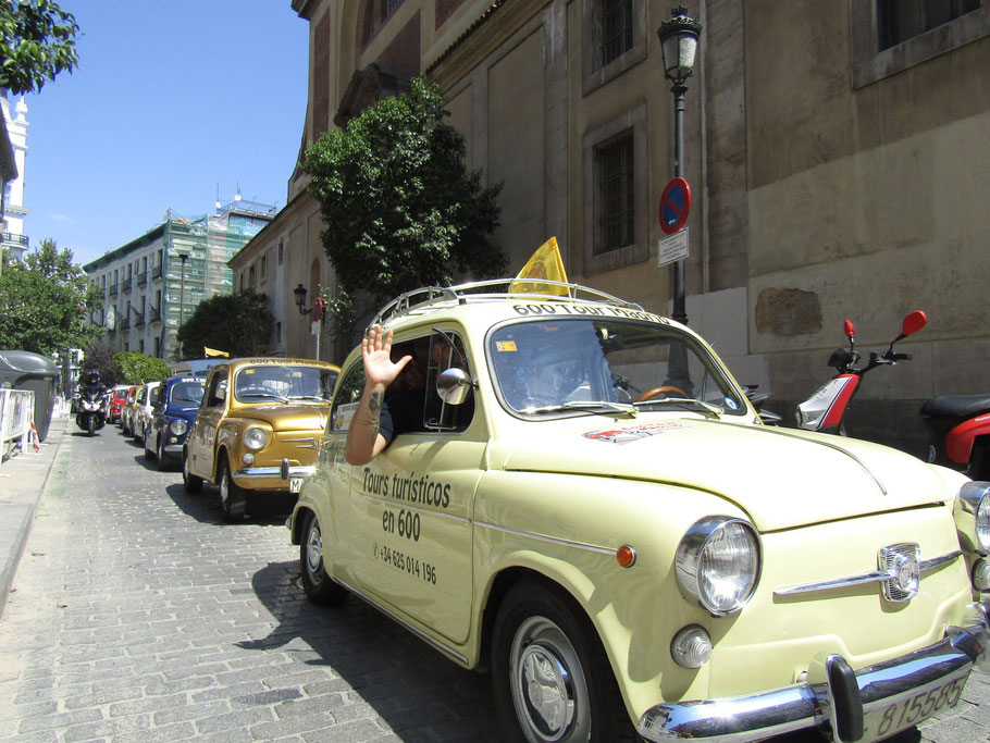 Alquila un Seat 600 en Madrid