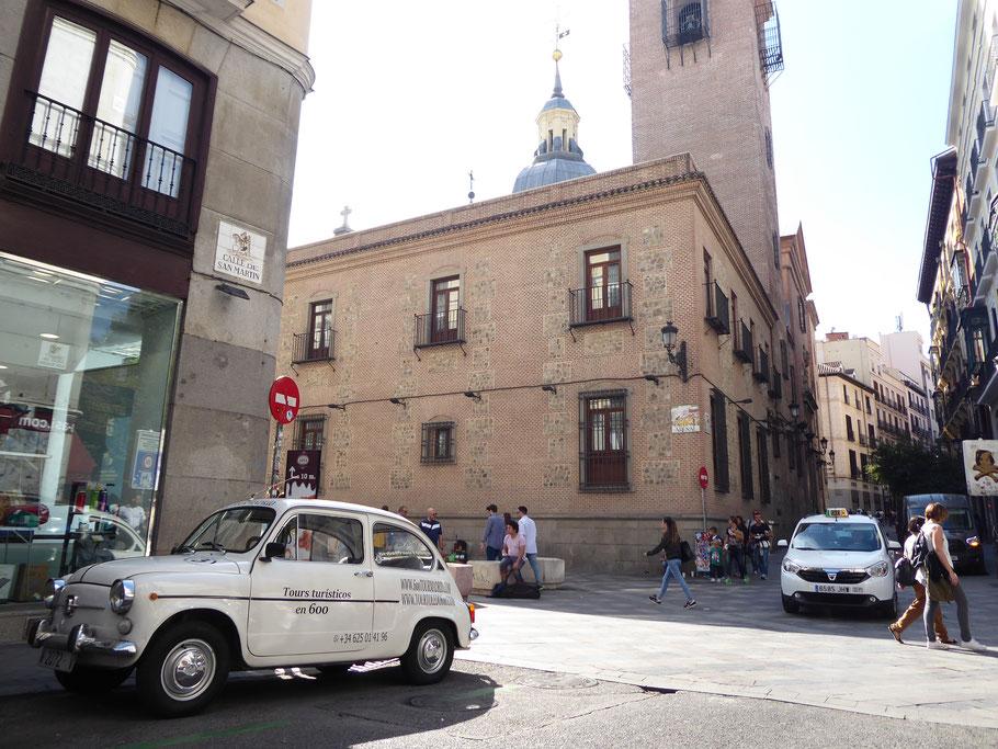 Iglesia San Gines 600 Tour Madrid