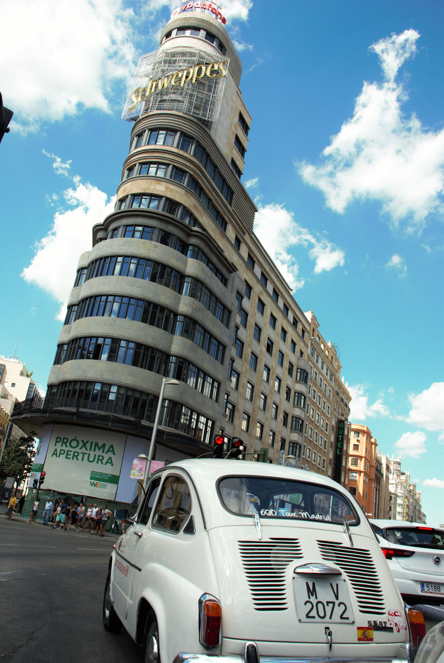 Tour Gran Via edificio Carrion o Capitol