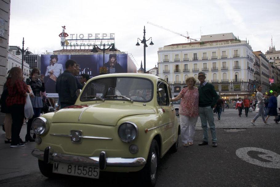 Cartel Tio Pepe Puerta del Sol Madrid