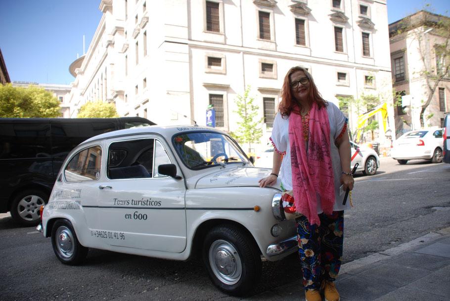 Tour turístico coche clasico Madrid