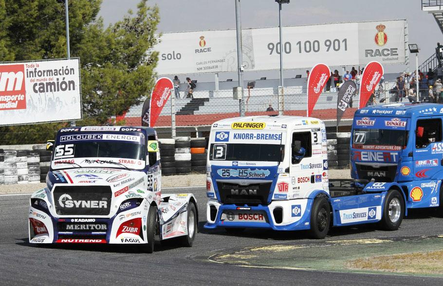 Campeonato Europa Camiones en el Jarama