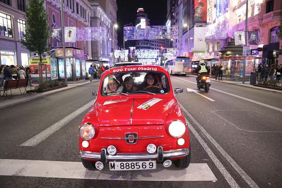naviluz tour coche clasico madrid