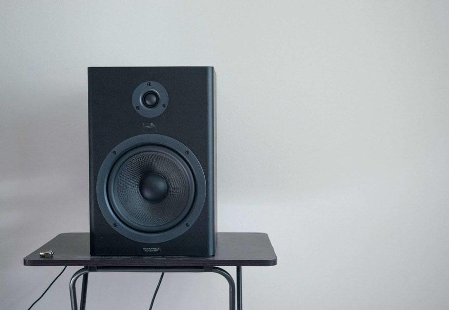 Single Black Audio Speaker
