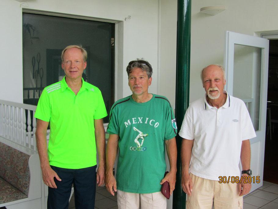 He 50 NR: 1. Jens Manske, 2. Rolf- Rüdiger Strietzel, u. 3. Klaus Mummert