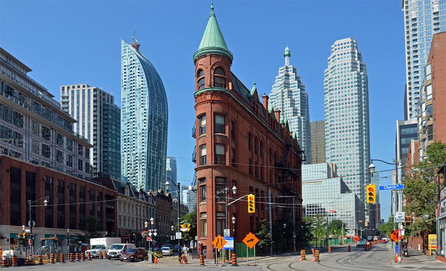 Das Gooderham-Building Toronto.