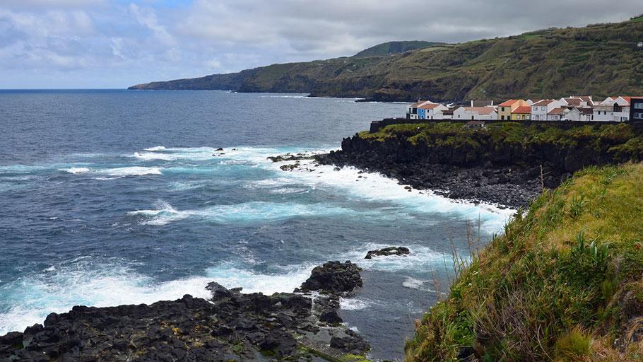 Die Nordküste von Sáo Miguel ist rau, dramatisch und zugleich beindruckend schön.