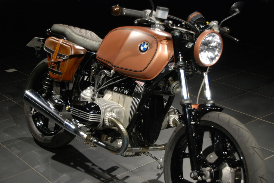 Scrambler BMW R80 #2 Custombike Geritech