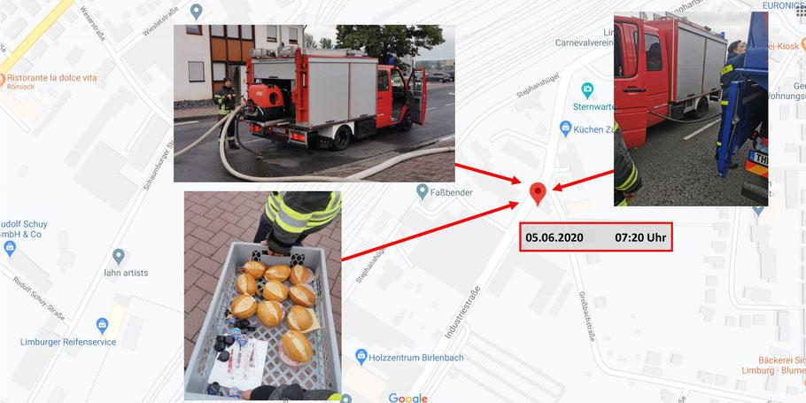 Einsatzort Feuerwehr Kemmenau 05.06.2020 um 07:20