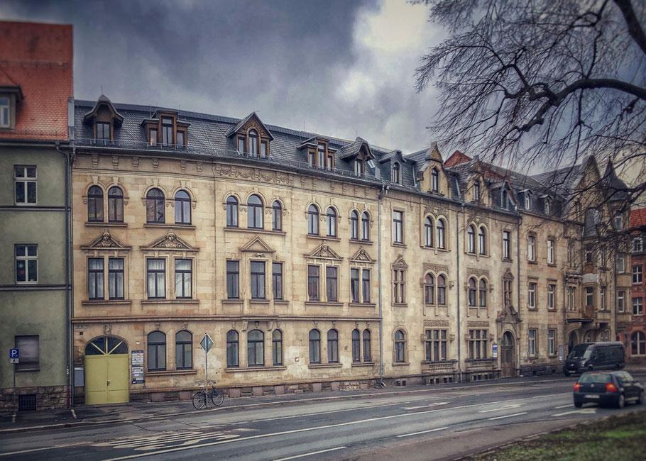 Unser Bürogebäude in Erfurt am Karl-Marx-Platz