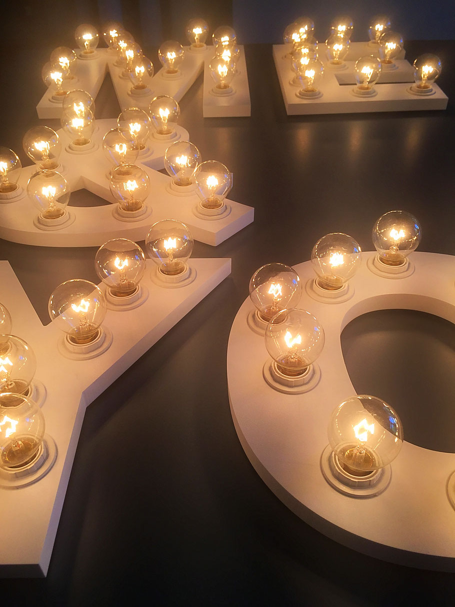 Leuchtkasten, Glühlampen-Leuchtkasten, Leuchtkasten für Hochzeit, Leuchtkästen
