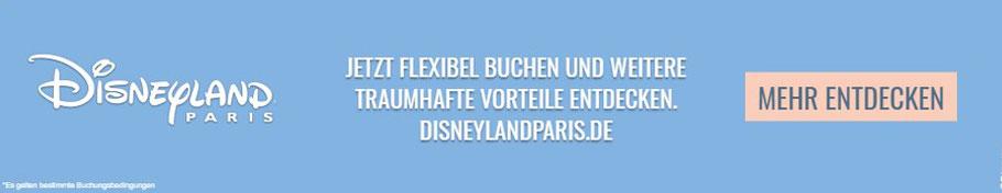 Dieser Banner leitet dich zur Disneyland Paris Website weiter. Solltest du dort etwas kaufen, bekommen wir von Freizeitpark Journey einen prozentualen Anteil des Kaufpreises von Disney. Dein Einkauf wird dadurch nicht teurer, du unterstützt uns nur.