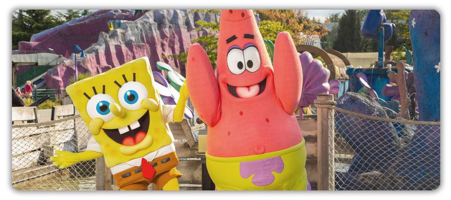 movie park germany spongebob und patrick treffen