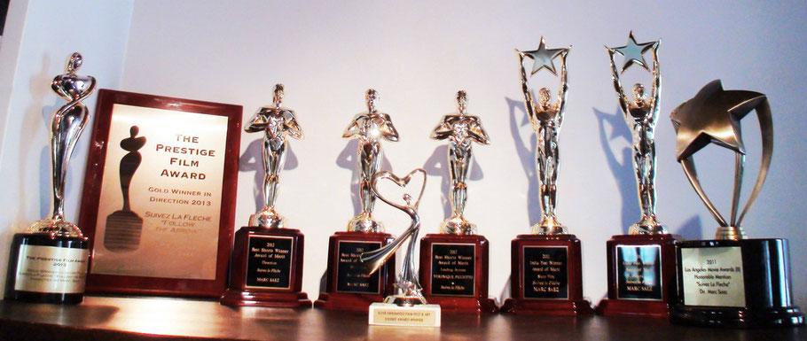 SUIVEZ LA FLECHE won 9 Awards in USA