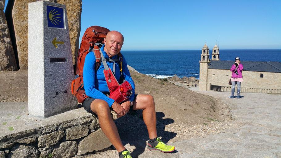 Am 9. Oktober 2018 in Muxia an der spanische Atlantikküste beende ich, nach über 2500 km und 116 Tagen, meine Pilgerwanderung durch Europa.