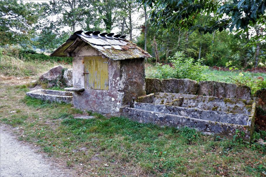 Antike Waschküche
