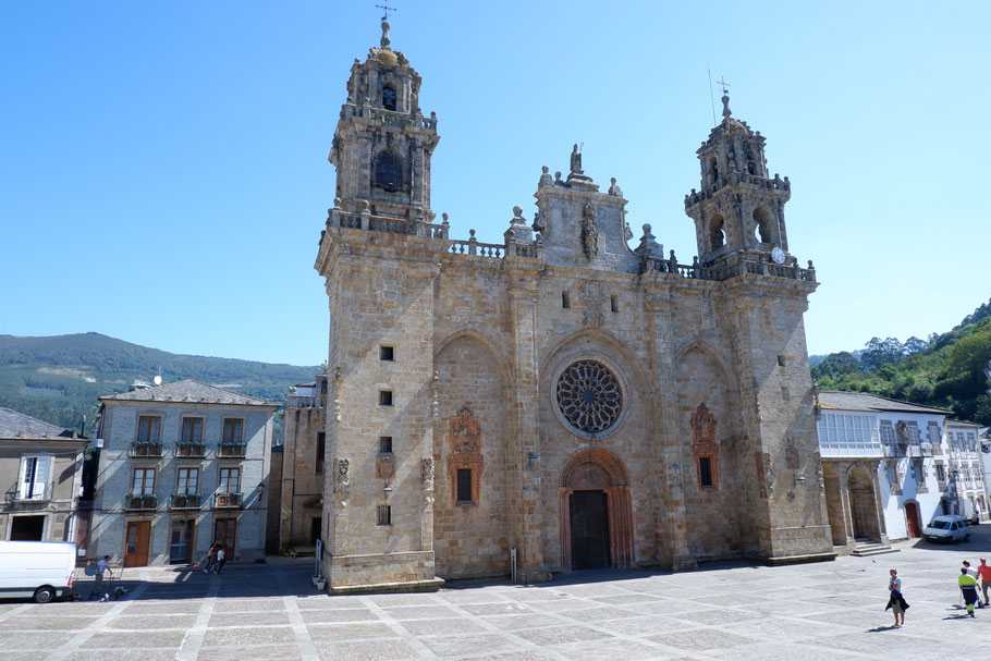 Die Kathedrele von Mondonedo