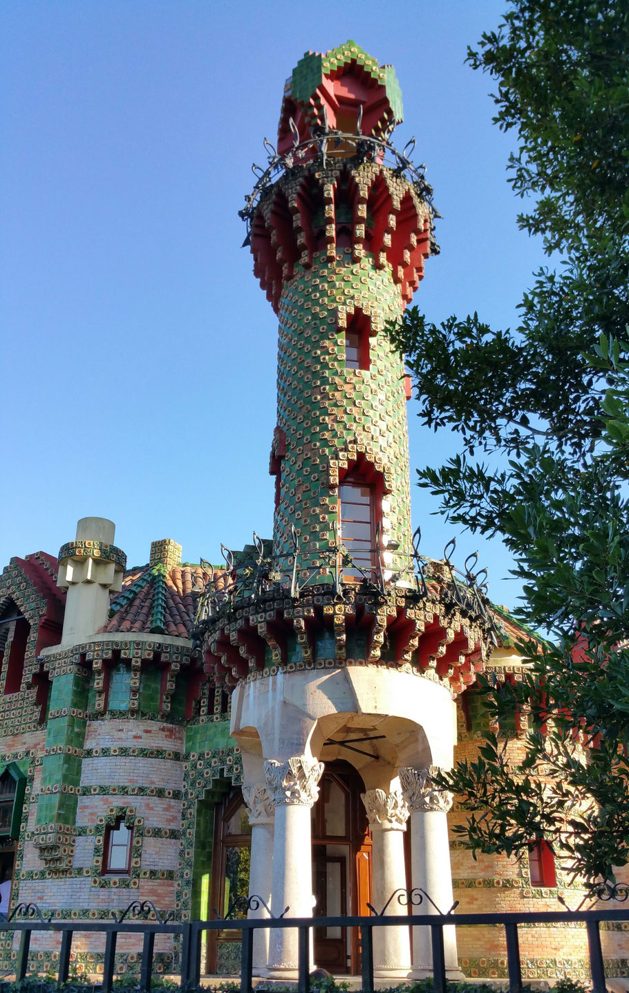 Villa Quijano von Antoni Gaudi in Comillas