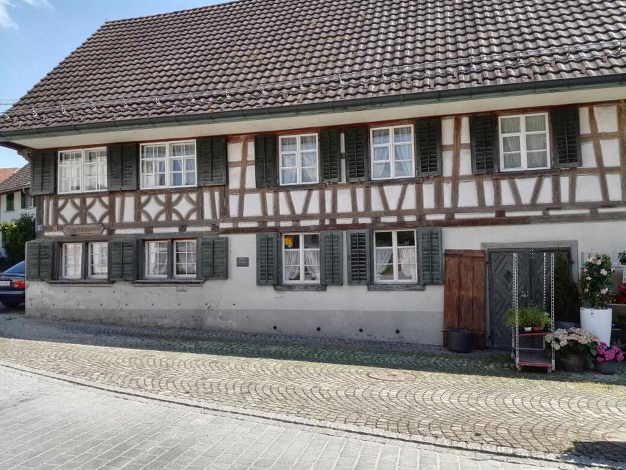 Erste Herberge in der Schweiz in Märstetten.
