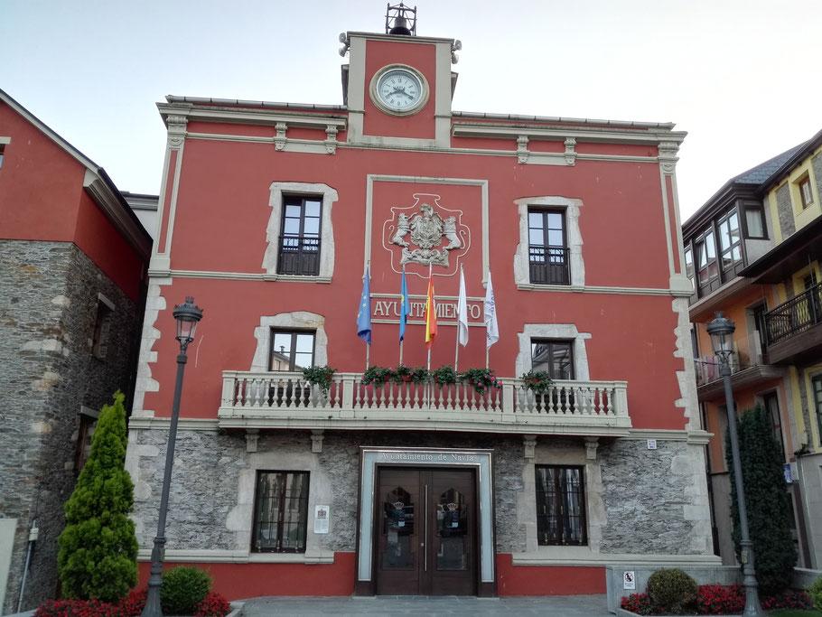 Rathaus in Navia