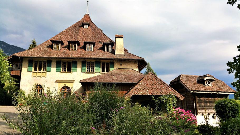 Luxus Beherbergung auf dem Gut Ralligen bei Merlingen am Thuner See