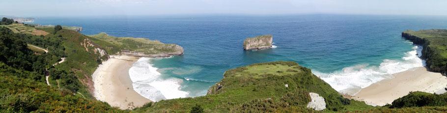 Die Küste vor Llanes