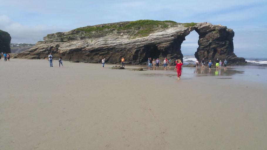 Ribadeo. Playa de las Catedrales