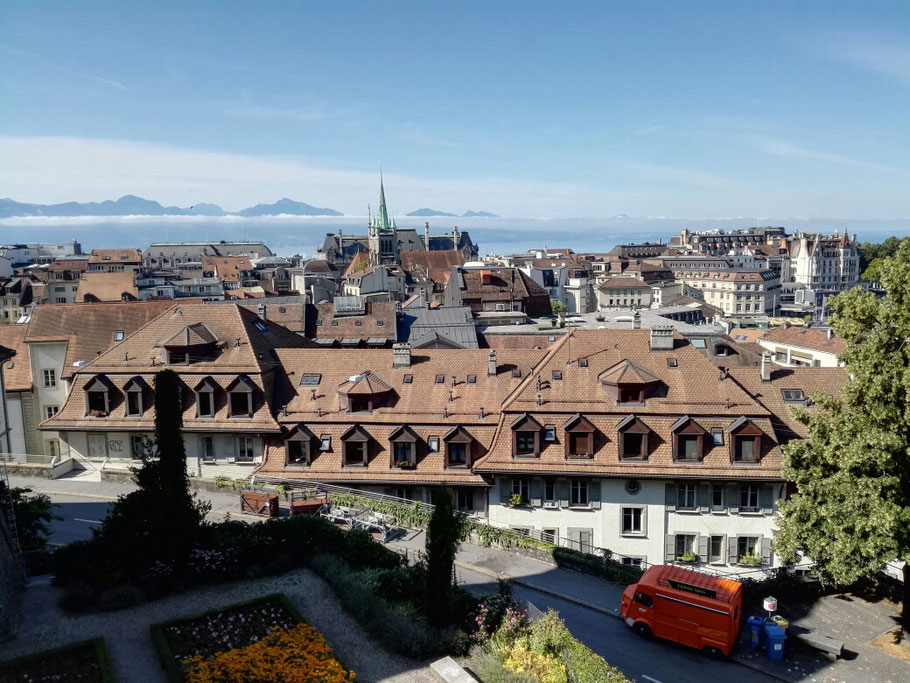 Lausanne am Genfersee