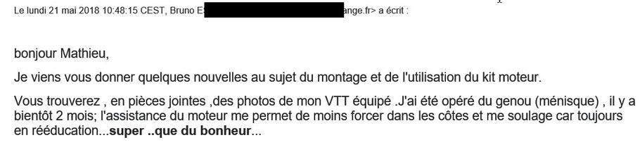 avis client lift-mtb sur vtt