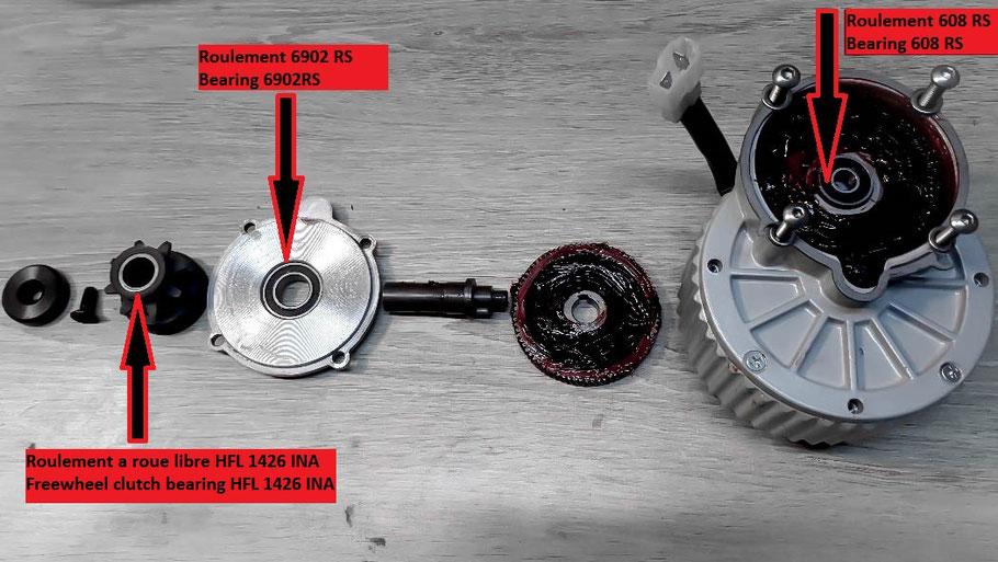 manutenzione e garanzia del kit elettrico ascensore mtb, motore elettrico per bici tipo mountain bike.