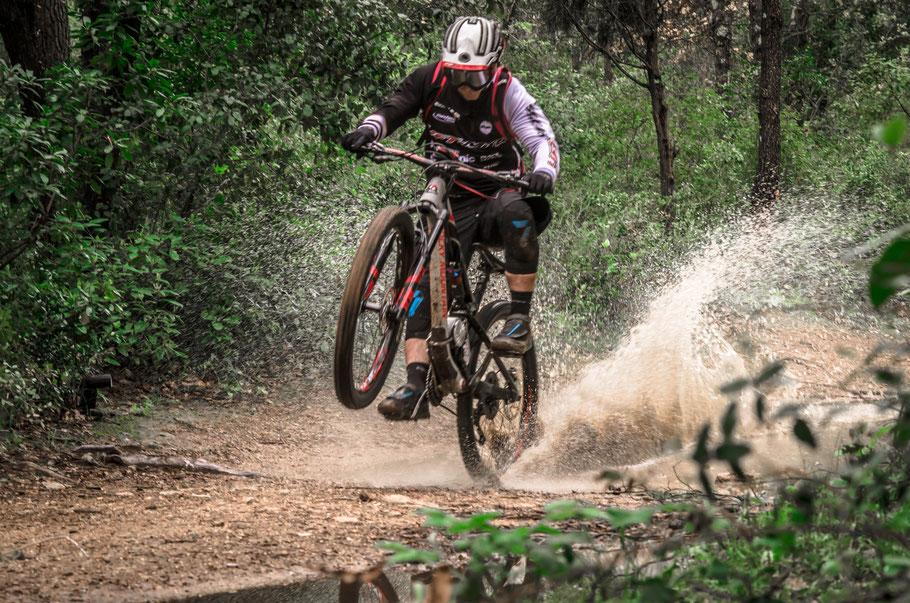 Unser elektrisches Mountainbike-Kit