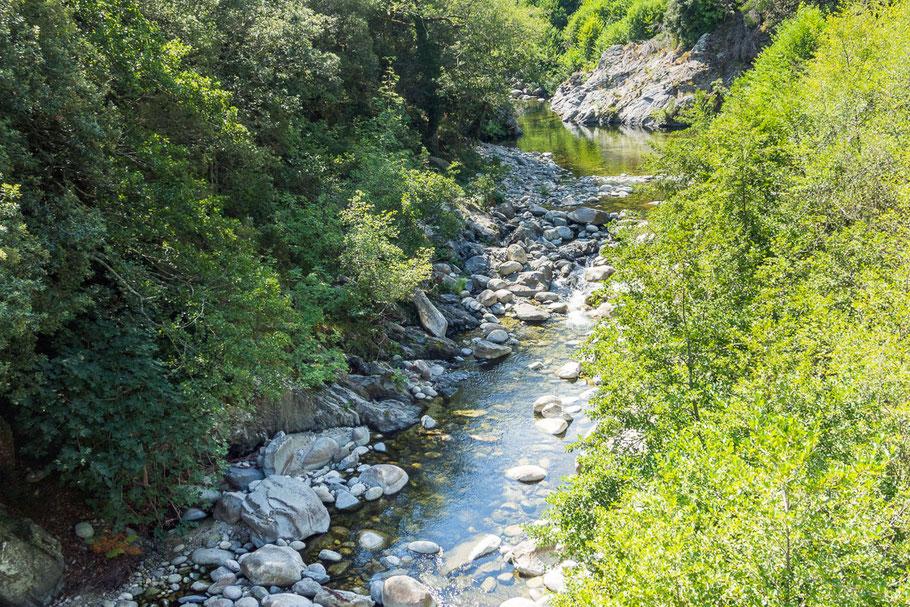 Flusslauf, Korsika, Ruhe