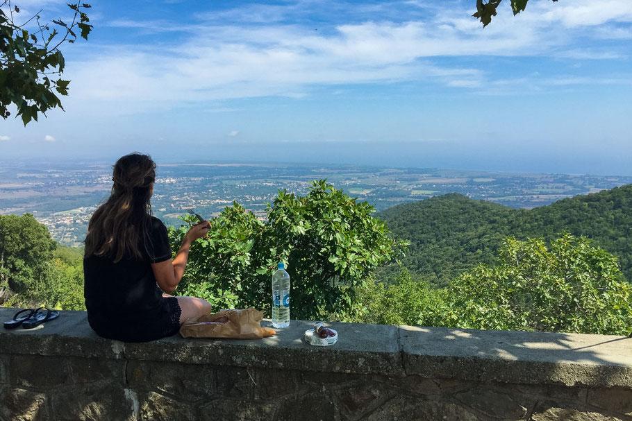 Ostküste, Korsika, Picnic