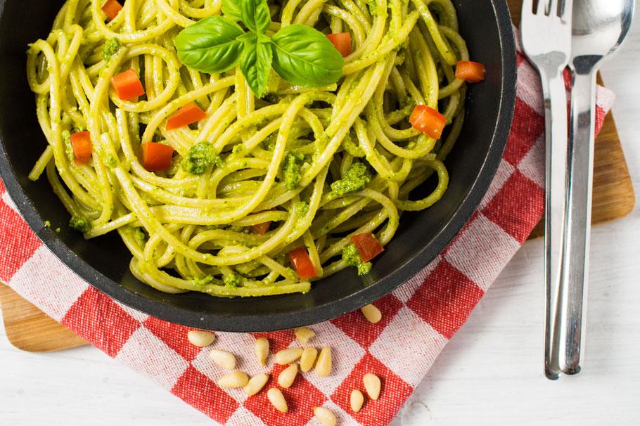 Veganes Pesto Genovese