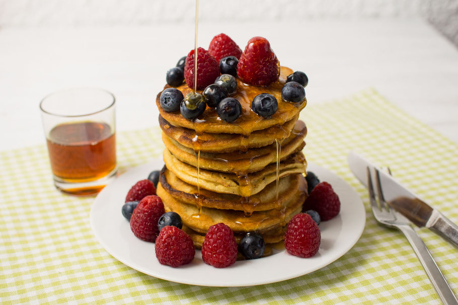 Pfannkuchen vegan glutenfrei gesund
