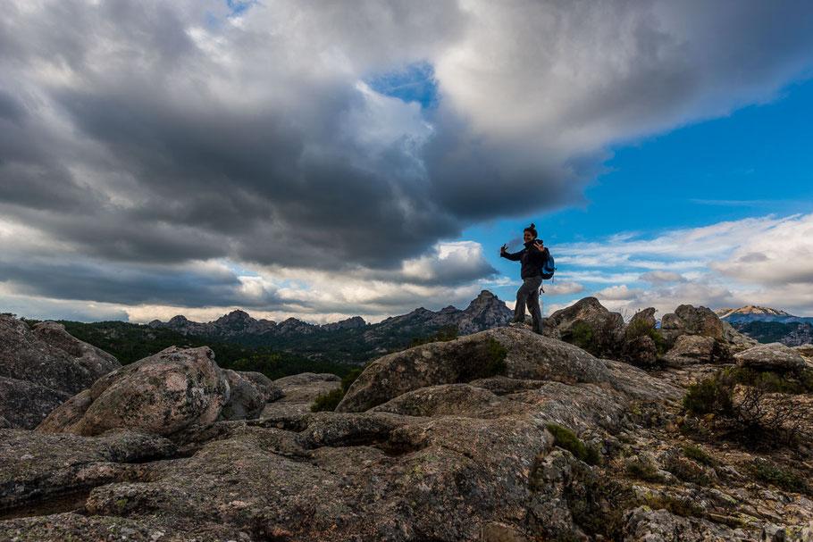 Serra di Fiumorbo, Korsika, Berge, Wald