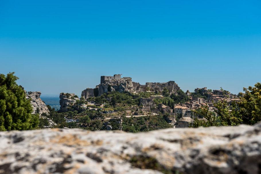 Südfrankreich, Provence, Urlaub, Bergdorf, Festung, les Baux de Provence