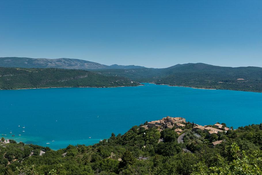 Südfrankreich, Verdon, Provence, Urlaub, Stausee, Badesee, Schlucht von Verdon