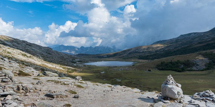 Lac de Nino, Korsika, Berge, Wald, Klettern, Bergtour