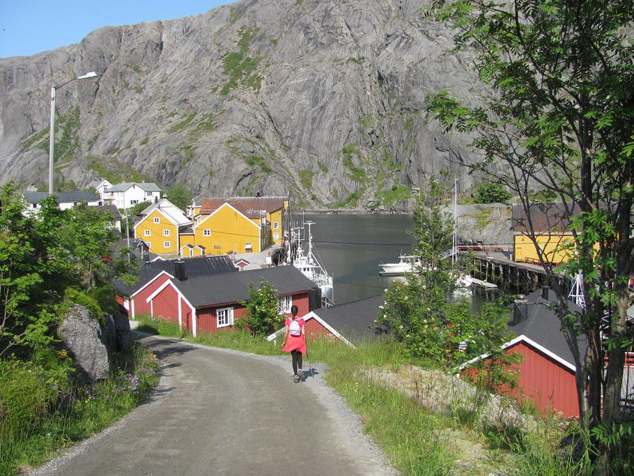 Arrivée à Nusfjord