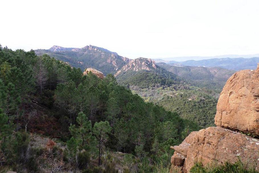 Magnifique vue sur l'Esterel