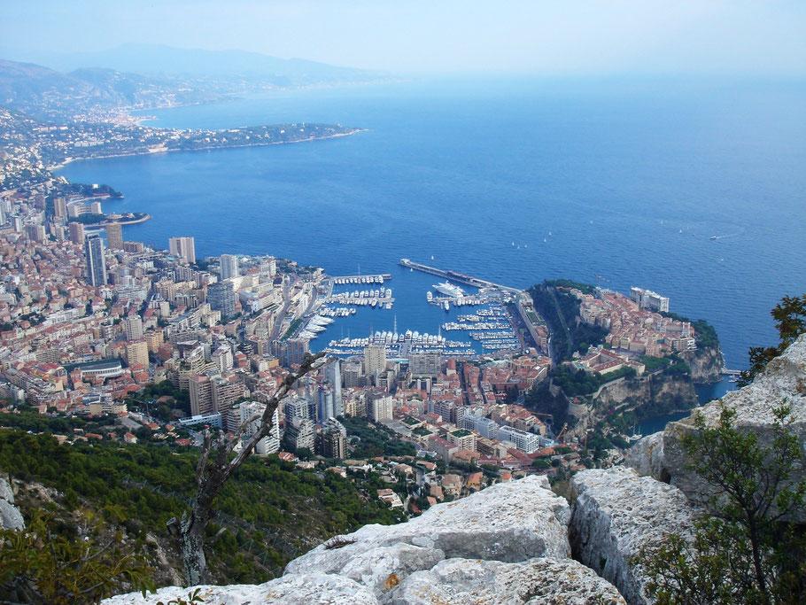 Vue extraordinaire sur Monaco