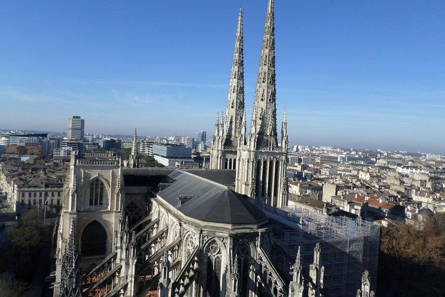 Vue sur la cathédrale Saint-André