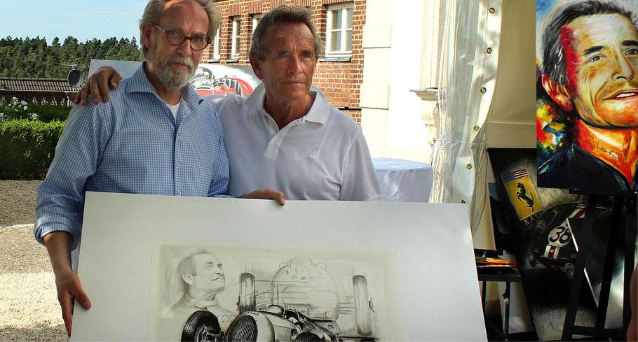 Jacky Ickx auf Schloss Bensberg 2015
