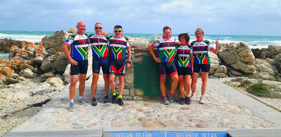 Teilnehmer der Radreise Garden Route Südafrika