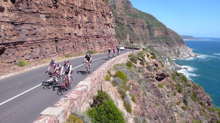 Atemberaubende Radstrecken in Südafrikas Kapregion