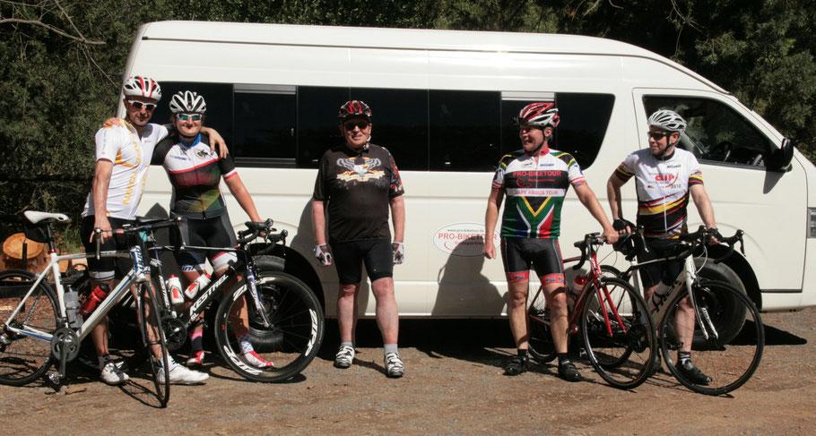 Rennradreise Kapstadt 2019