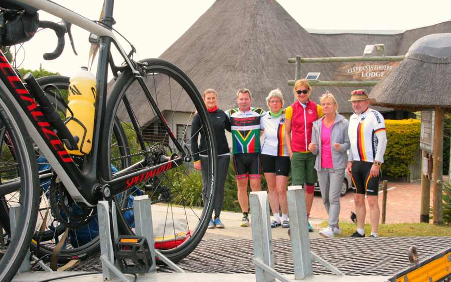 Gemeinsam Herausforderungen meistern - auf der Garden Route Radreise 2018 durch Südafrika