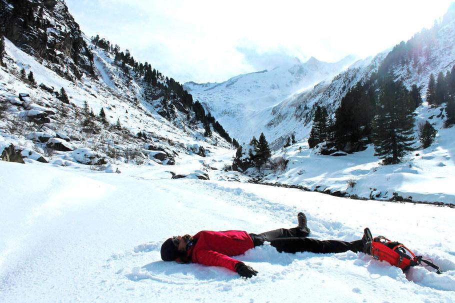 Wanderung Zillertal, Winterurlaub, Gerlos
